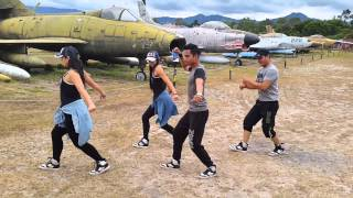Skrillex Ragga Bomb With Ragga Twins ZUMBA BY HONDURAS DANCE CREW