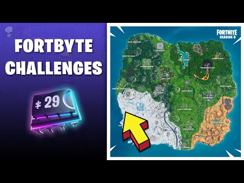 Fortbyte #29 Location Found underneath the tree in crachshot's cabin Fortnite Guide