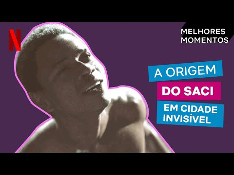 A origem do Saci em Cidade Invisível | Netflix Brasil