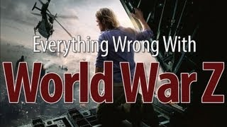World War Z. It's supposed to be incredible, but we've never read it. Oh yeah, apparently there's a movie about it too, so we went looking for (non-book-based) ...