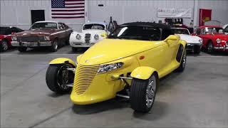 2000 Plymouth Prowler Yellow tc2