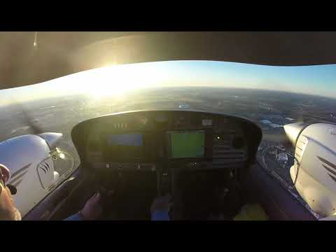 Clear Day IFR Departure Over Charlotte KCLT