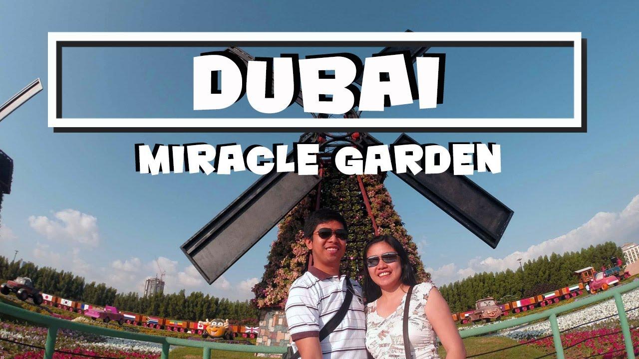 Dubai | Miracle Garden 2014 - YouTube