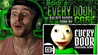 "Vapor Reacts #716 | [SFM] BALDI'S BASICS SONG ANIMATION ""Every Door"" by CG5 REACTION!!"