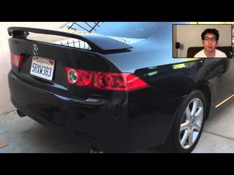 Log 12 – DIY: 2005 Acura TSX OEM Style Spoiler Install