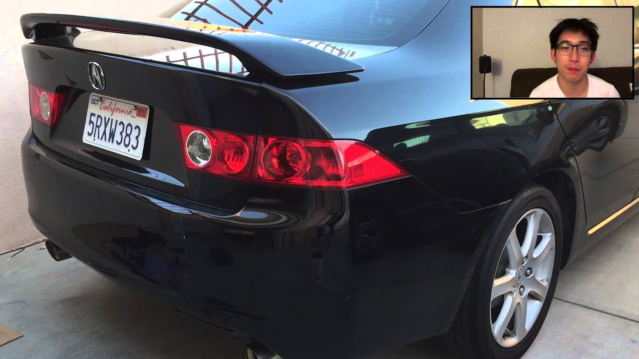 Log 12 diy 2005 acura tsx oem style spoiler install youtube sciox Images