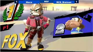 Baixar [09/16/17|Sm4sh] WSF: Mace (Fox) VS RCS|Braixen (Diddy Kong)