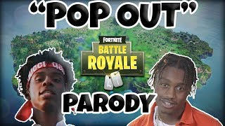 POP OUT - LIL TJAY & POLO G [FORTNITE PARODY OFFICIAL VIDEO]