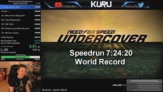 NFS Undercover Speedrun any% 7:24:20