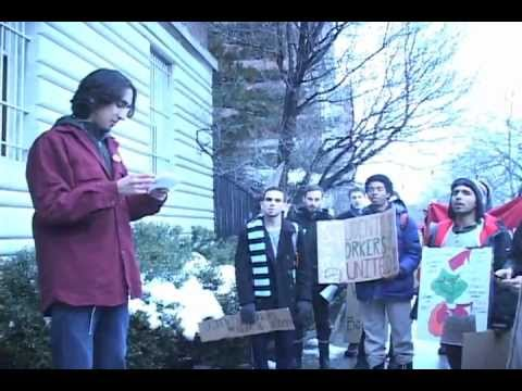 SWS Protest March 8th, 2013   George, Alvaro, Osmond, and more mic checks raw footage