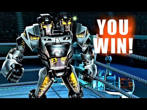 TWIN CITIES CAREER Real Steel WRB Android Gameplay HD