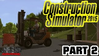 Senior Play's Construction Simulator 2015 Part 2