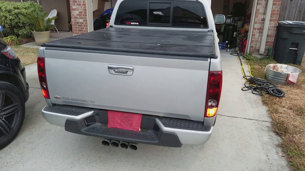 V8 Colorado BTR stage 4 truck cam    after install (STOCK TUNE)