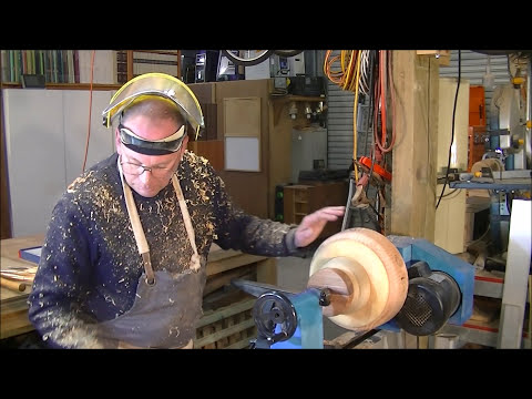 168 Turning wood off cuts into a $100 bowl