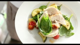 Chicken and Roasted Vegetable Salad
