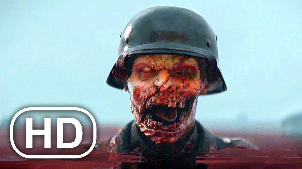 Download WW2 ZOMBIES Full Movie Cinematic 4K ULTRA HD Horror Call Of Duty All Cinematics Trailers