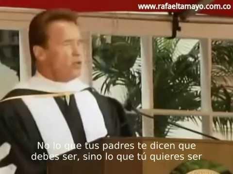 Arnold Schwarzenegger Discurso Las Seis Reglas Del Exito Subtítulos Español