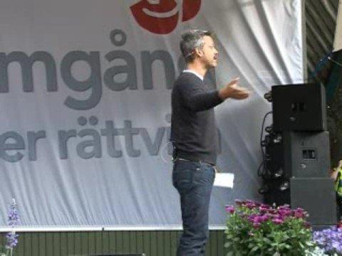 Henrik Schyffert i Almedalen 2008