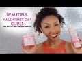 Beautiful Valentine's Day Curls! Girls With Curls Review & Hairstyle Tutorial | BiancaReneeToday