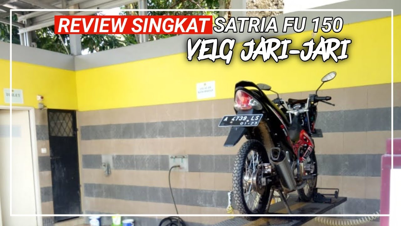 REVIEW SATRIA FU 2013 MODIFIKASI SIMPEL