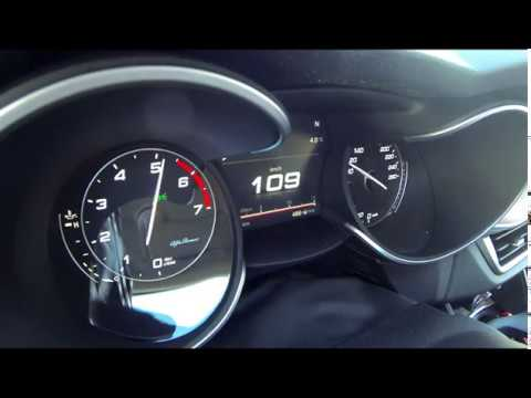 Alfa Romeo Stelvio 2 0 280 Cv Accelerazione 0 100 Km H Q4 Youtube