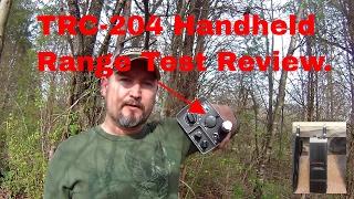 Realistic TRC-204 Range Test Review