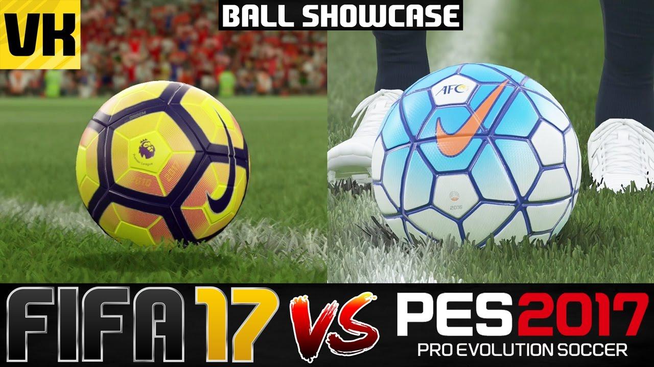 a30e3e5a0463 FIFA 17 VS PES 2017 LICENSED BALL SHOWCASE (BPL