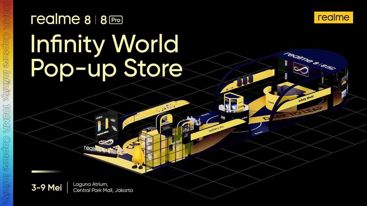 realme 8 | 8 Pro - Infinity World Pop-Up Store Highlights