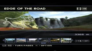 PS2 - ENTHUSIA - Free Racing - tracks that I have until to this date 2013-03-29