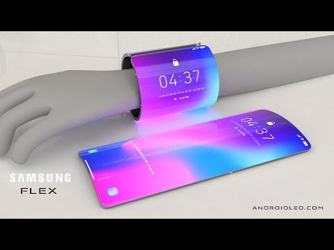 Samsung Galaxy Flex 2020 Future Smartphone Concept With Flexible Display