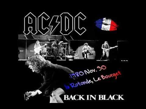 AC/DC [November 30th 1980] La Rotonde du Bourget, Paris, France {Live Audio}