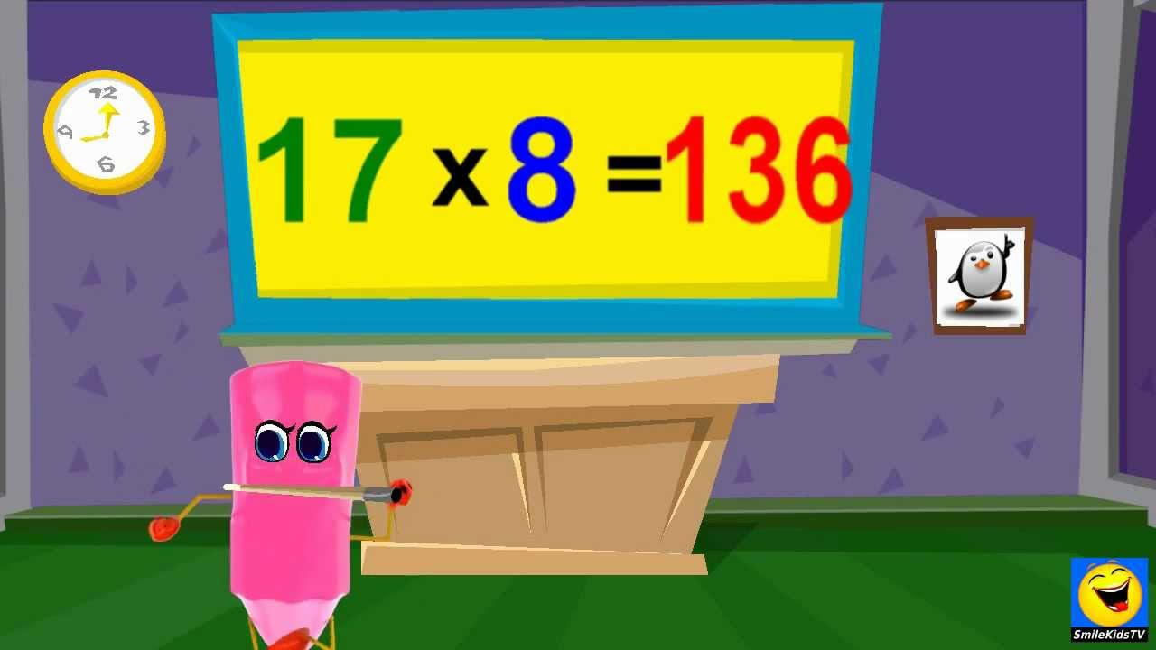 Multiplication | 17 Times Table - Twice | Kids Songs With Lyrics ...