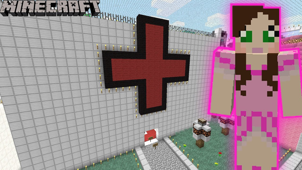 Minecraft the hospital puzzle game pat amp jen themepark 2