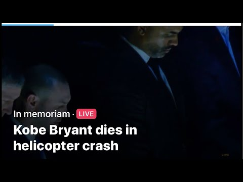 """Kobe Bryant Dies In Helicopter Crash"" Is A Bad Dream I Woke Up To. Unbelievably Sad"