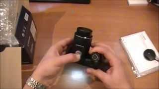 Canon PowerShot SX400 IS. Обзор и распаковка фотокамеры.(Матрица Общее число пикселов-16.6 млн Число эффективных пикселов-16 млн Размер-1/2.3