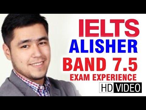 IELTS Cast Alisher Band 7.5 in Kazakhstan | Safna's IELTS Coaching
