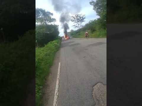 Acidente entre São João do Rio do peixe e Cajazeiras - Paraíba Dia 25.04.2018