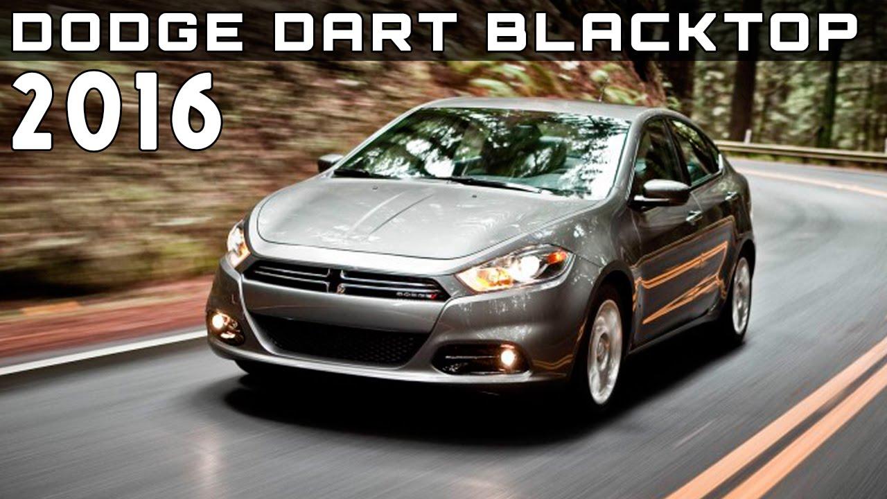 2016 Dodge Dart Blacktop Review Rendered Price Specs Release Date