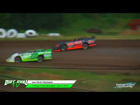 6 2 18 Late Models Highlights Cottage Grove Speedway
