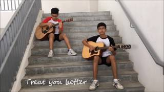 Treat You Better (Shawn Mendes) - Guitar Duet