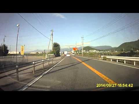 【御嶽山噴火で現場へ向かう緊急車両群】