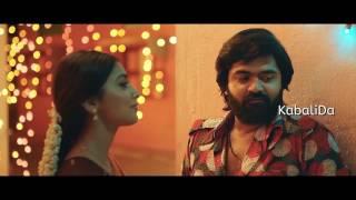 Simbu and Shriya Saran Kiss Scene In AAA
