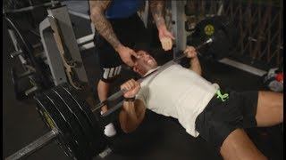 HITTING PR's | INSANE CHEST AND TRICEP DAY