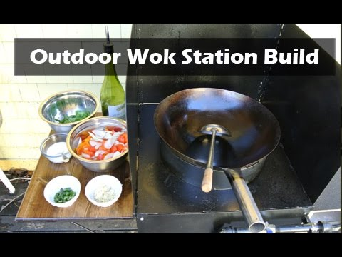 Building an Outdoor Wok Station - High Power Burner
