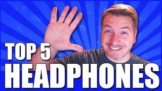 Video MY TOP 5 FAVORITE HEADPHONES download MP3, 3GP, MP4, WEBM, AVI, FLV Juli 2018