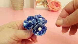 видео Тычинки для цветов из пластиковых бутылок | Практичное рукоделие из подручных материалов/Плюшкина со знаком