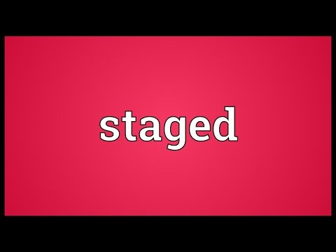 Staged Meaning