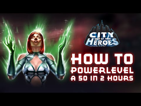 How To Get A Level 50 In City Of Heroes In 2 Hours (Spines/Fire Brute Powerleveling Guide)