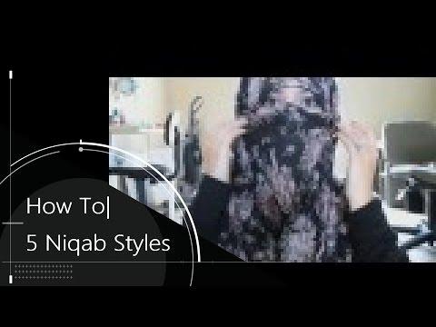 5 Ways to Tie a Niqab