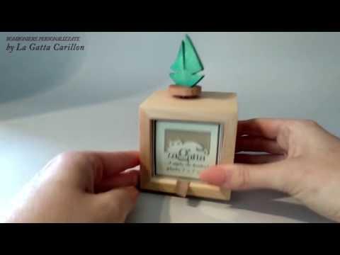 BARCHETTA carillon bomoniera ( carioncino e porta foto) - SUR LE PONT D'AVIGNON